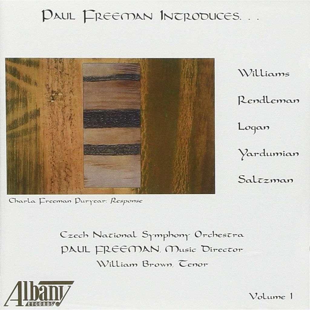 Williams, Rendleman, Logan, Yardumian & Salzman Paul Freeman Introduces... / William Brown, Lubomir Lebenza, Czech National SO, Paul Freeman