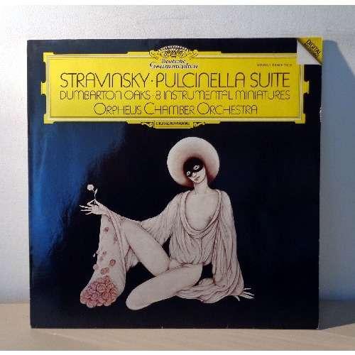 ORPHEUS CHAMBER ENSEMBLE STRAVINSKY Pulcinella suite - Concerto  dumbarton oaks  - Eight instrumental miniatures