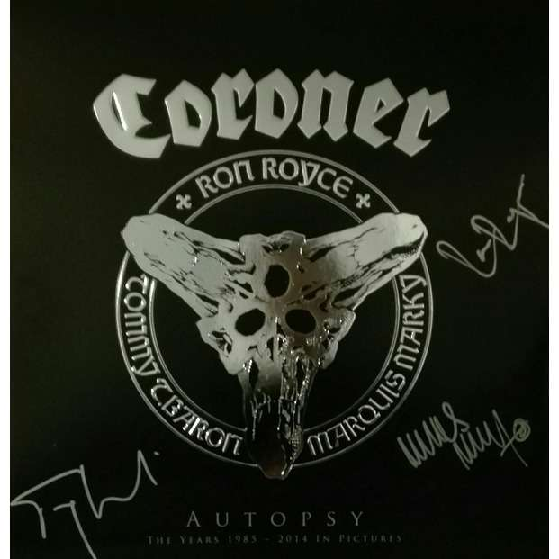 Coroner ‎ Autopsy - The Years 1985 - 2014 In Pictures