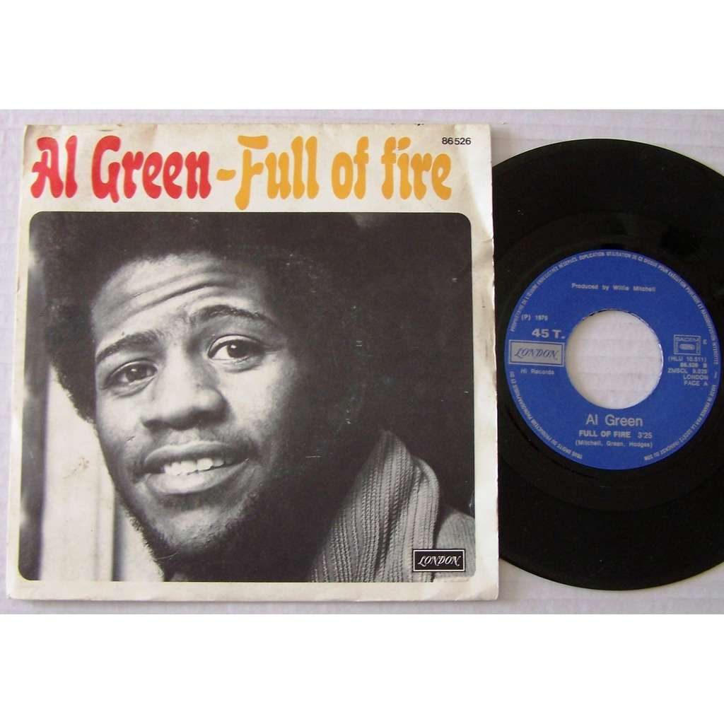Al GREEN full of fire