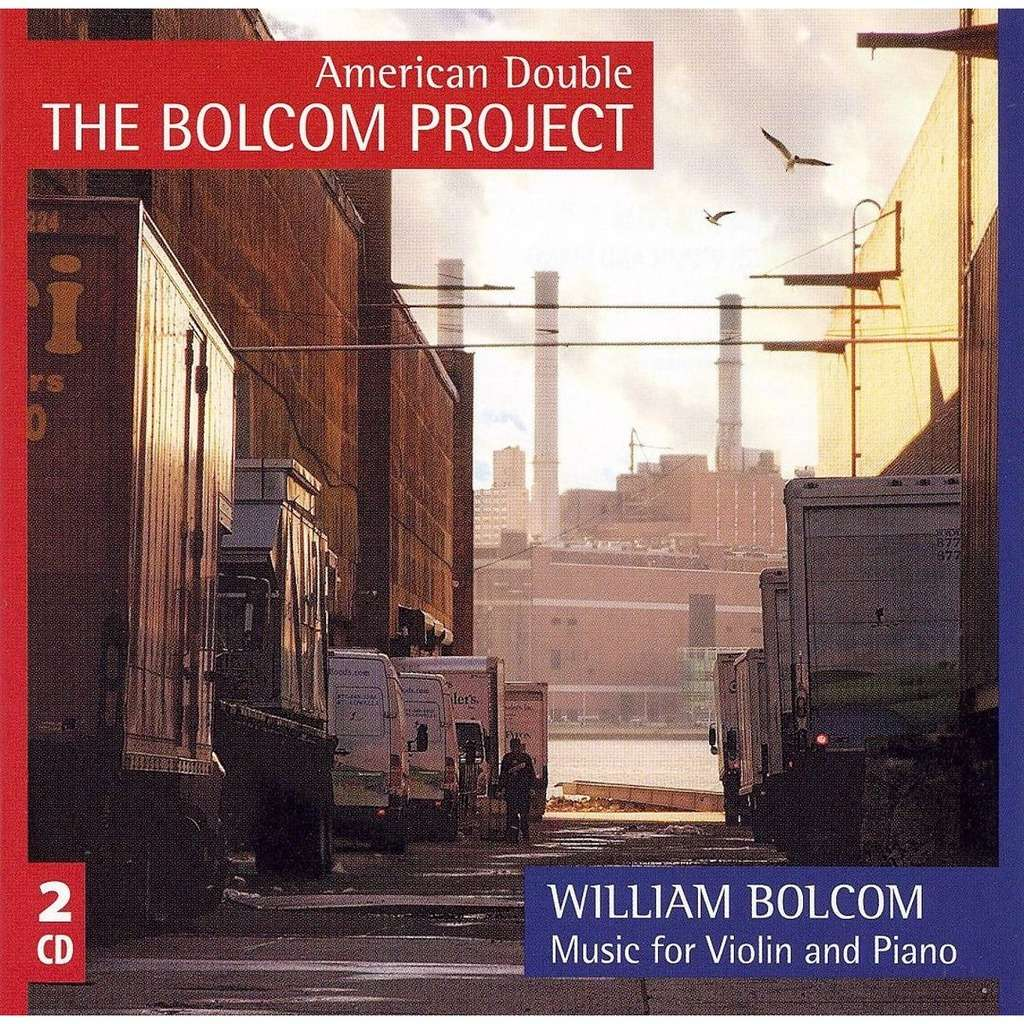 Bolcom, William (1938-) Music for Violin & Piano / Constantine Finehouse, Philip Ficsor