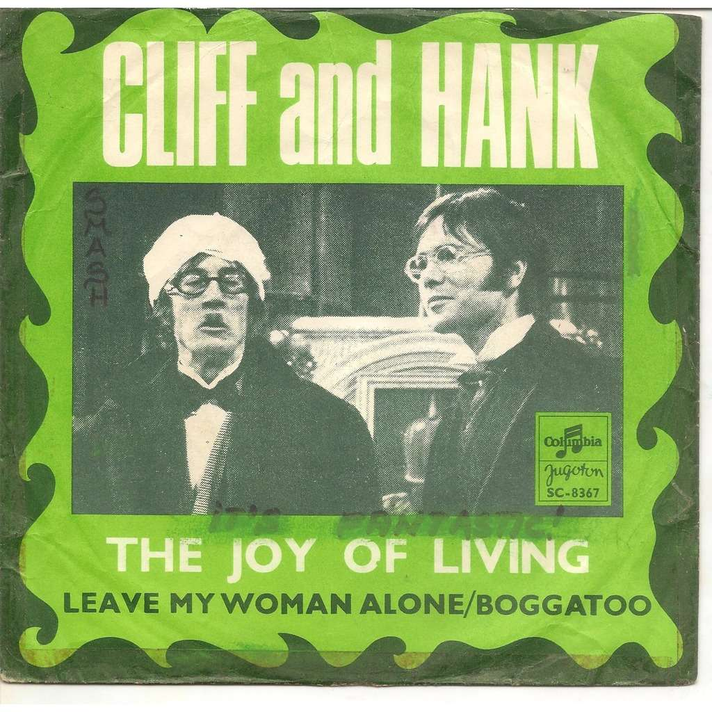 CLIFF RICHARD U0026 HANK MARVIN THE JOY OF LIVING/LEAVE MY WOMAN ALONE/BOOGATOO