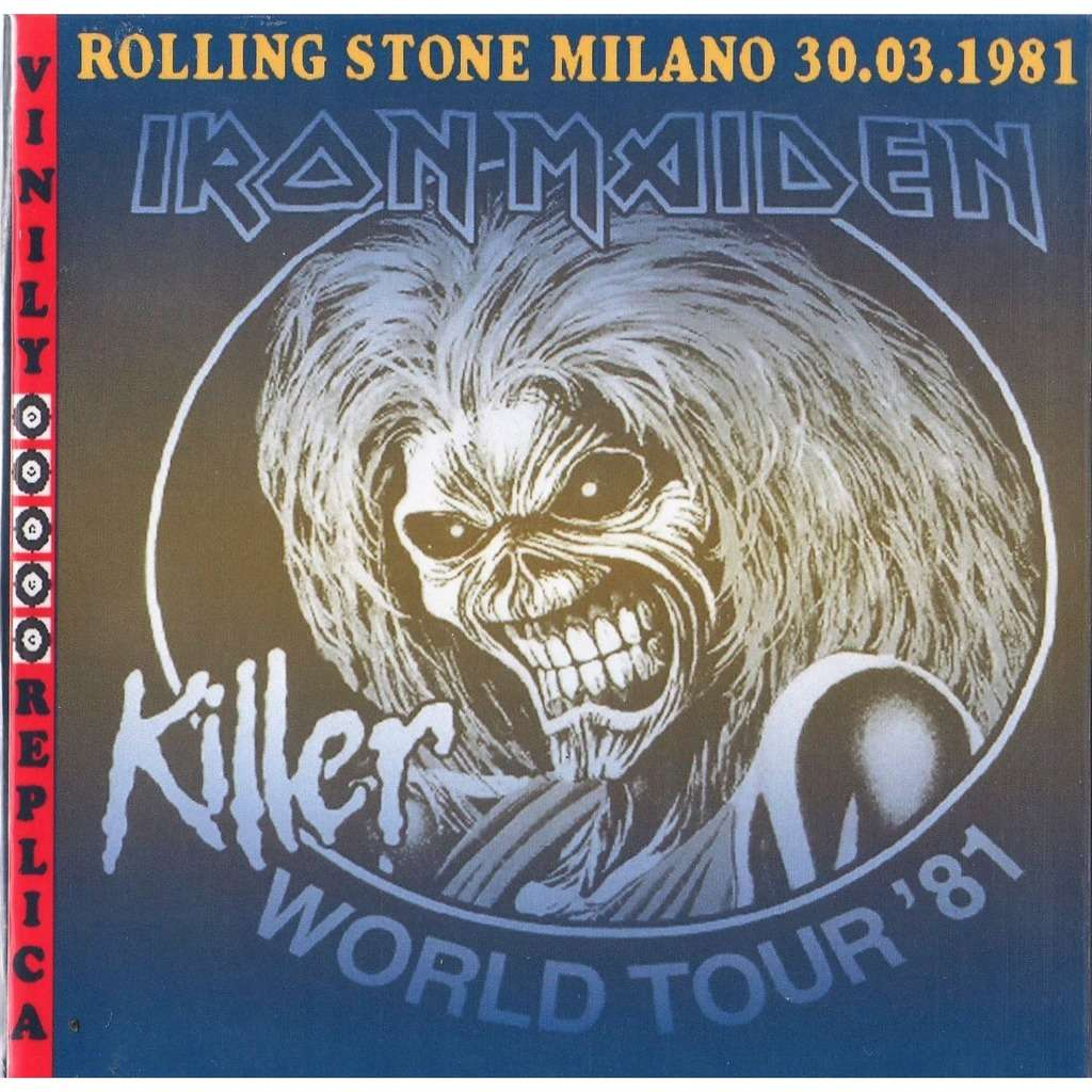 Iron Maiden Live At 'Rolling Stone' (Milano IT 30.03.1981)