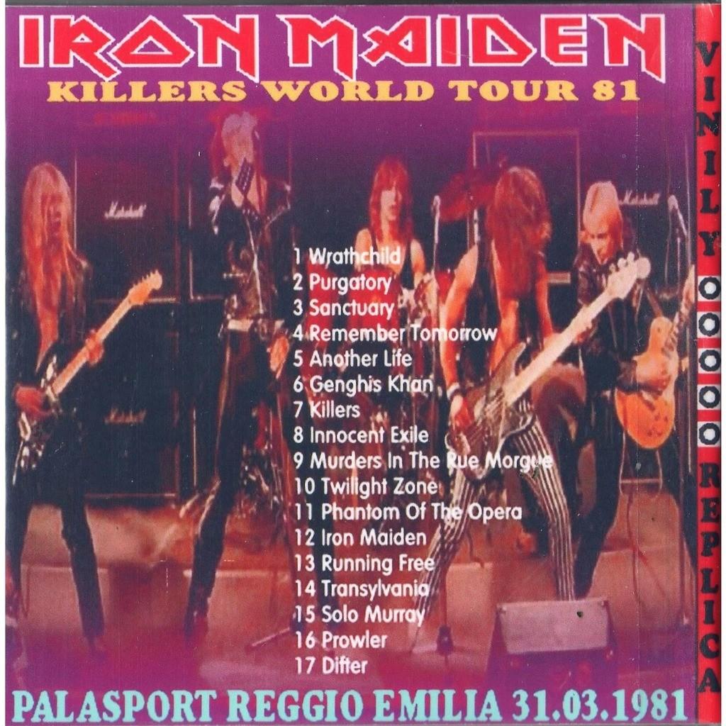 Iron Maiden Live At 'Palasport' (Reggio Emilia IT 31.03.1981)