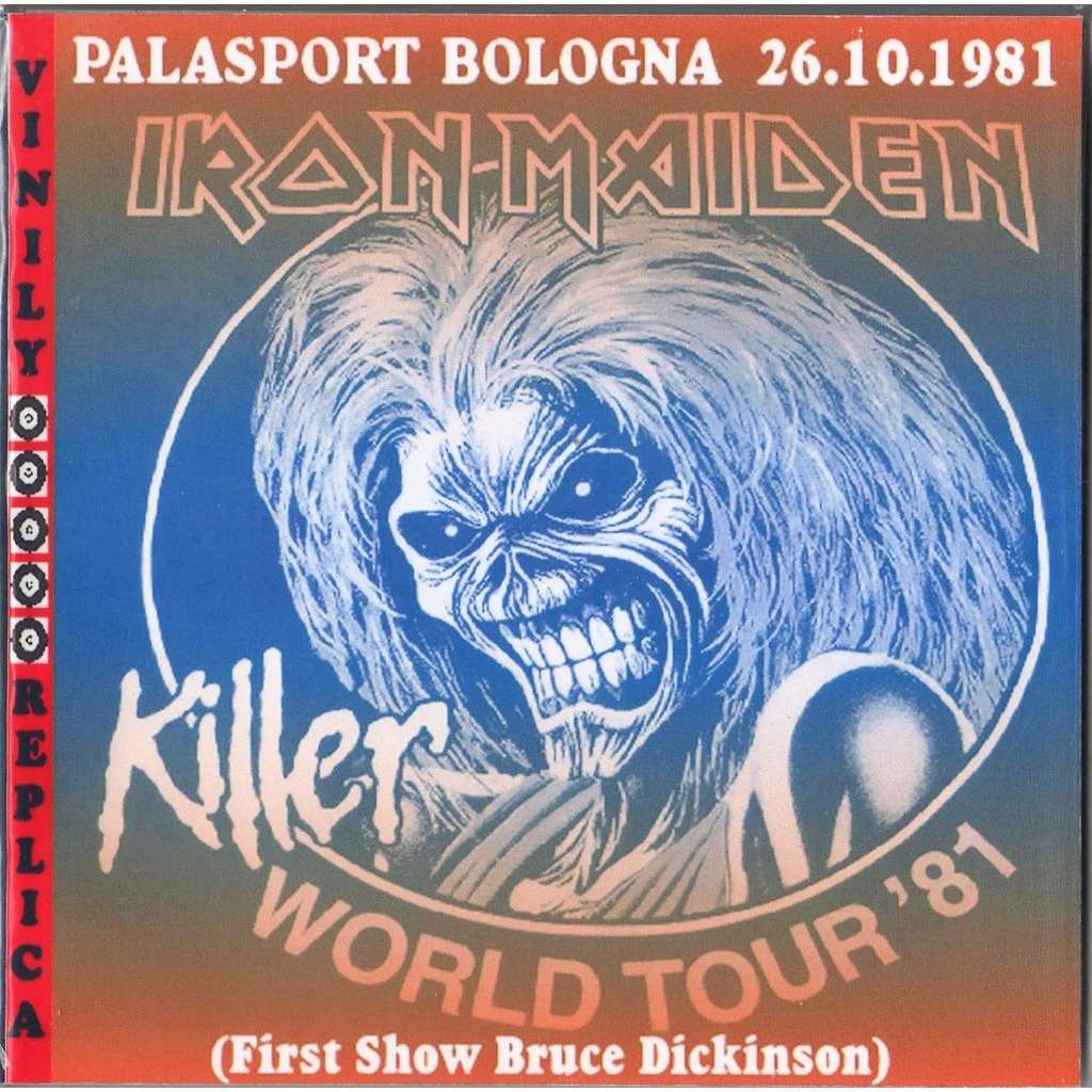 Iron Maiden Live At 'Palasport' (Bologna IT 26.10.1981 - Bruce Dickinson's First Show)