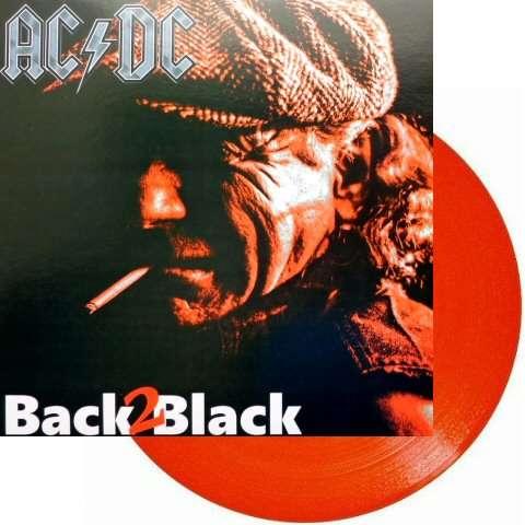 AC/DC Back 2 Black (lp) Ltd Edit Colored Vinyl -E.U