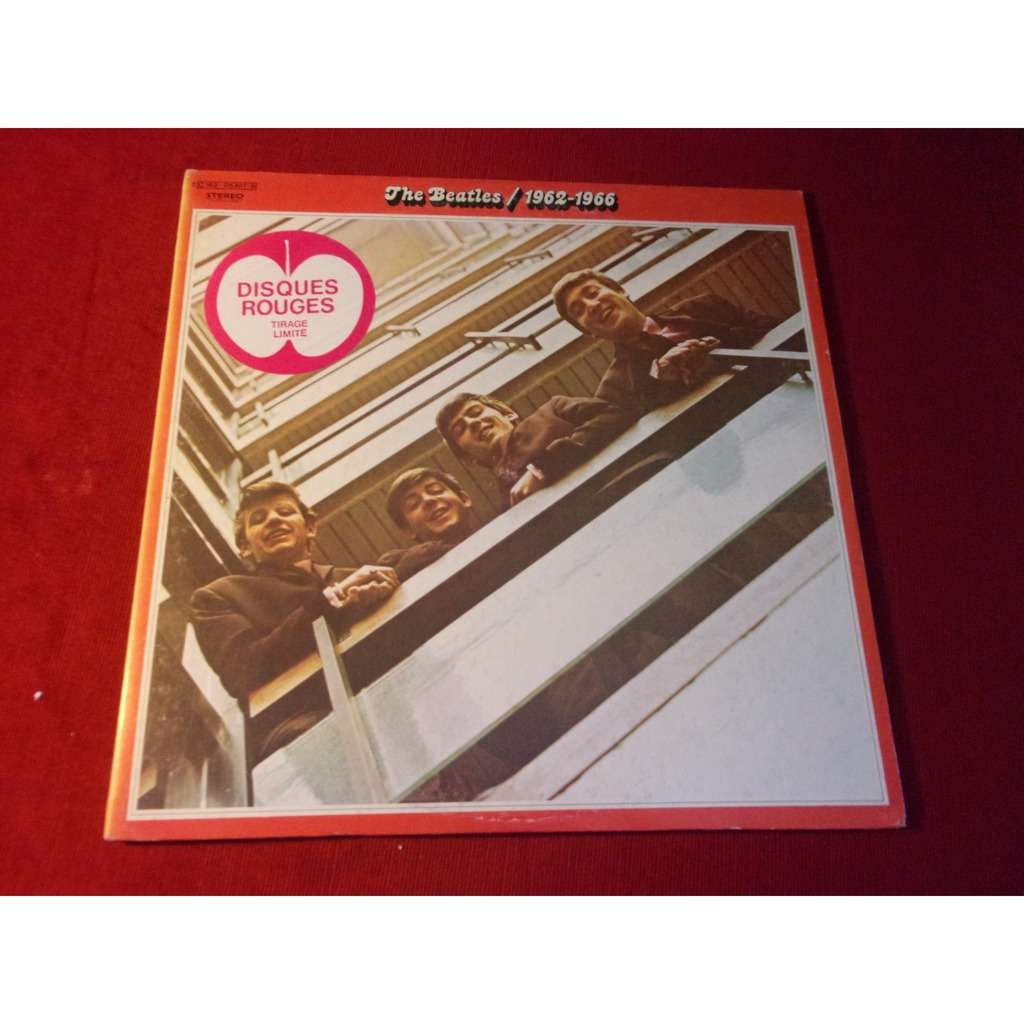 THE BEATLES 1962-1966 / RED VINYL - limited edition