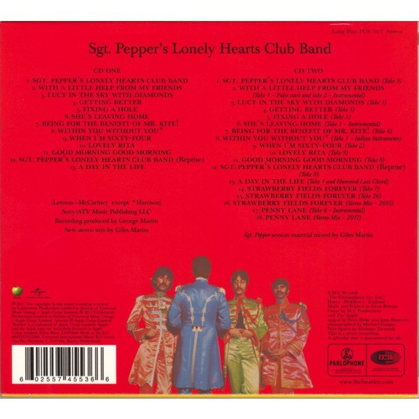 Sgt Pepper S Lonely Hearts Club Band 50th Anniversary