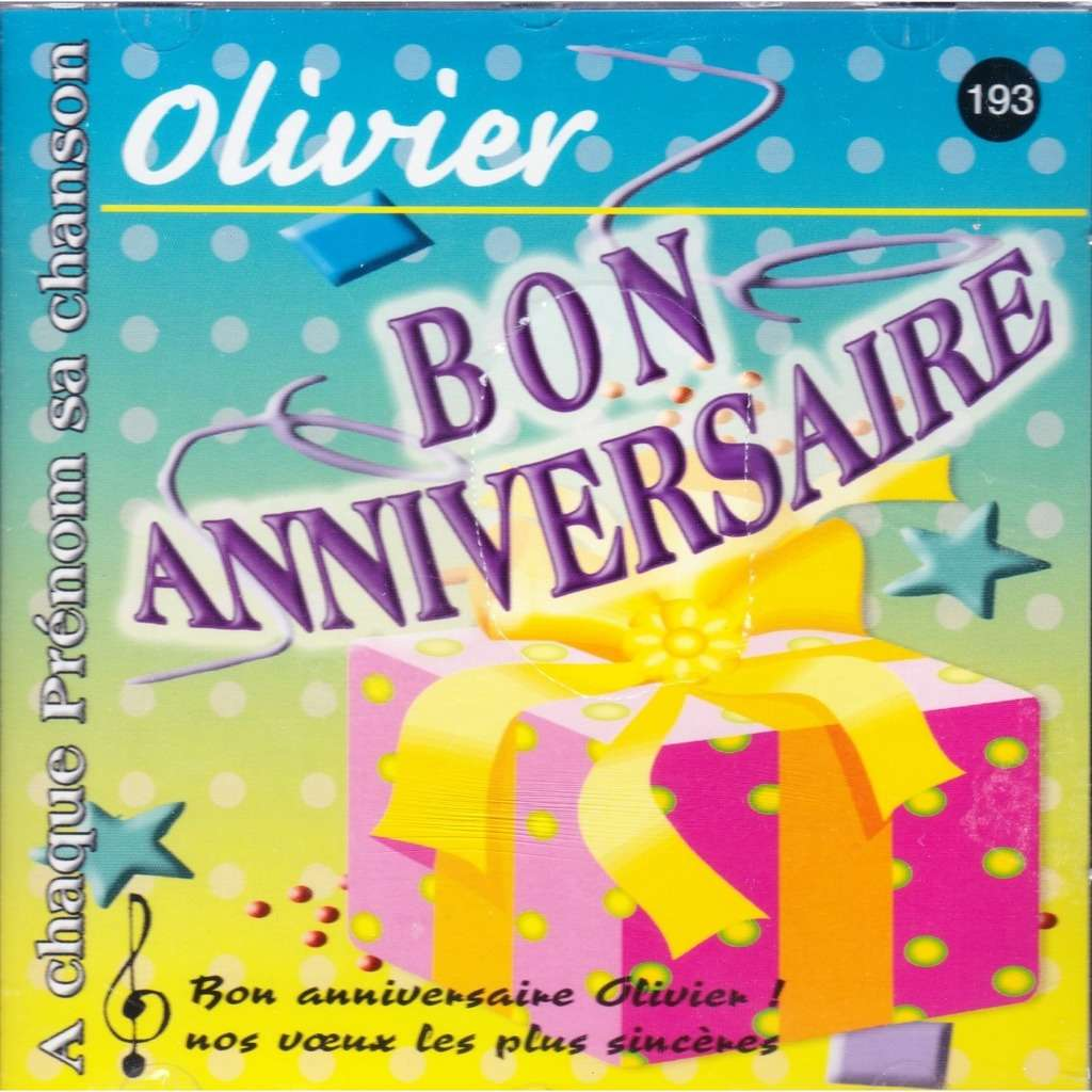 Bon Anniversaire Olivier By Pascal Riviere Cd With Omni10 Ref