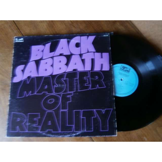 Master Of Reality By Black Sabbath Lp With Seventies Ref119264169