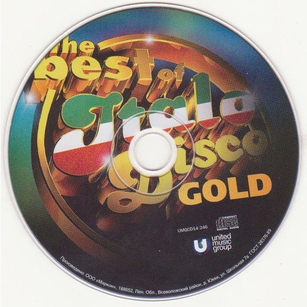 Various The Best Of Italo Disco - Gold
