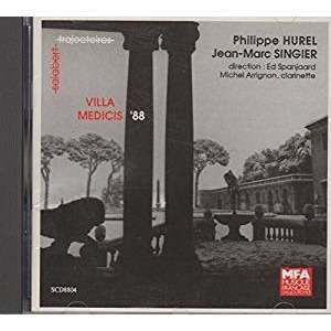 Philippe Hurel / Jean-Marc Singier Villa Medicis 1988