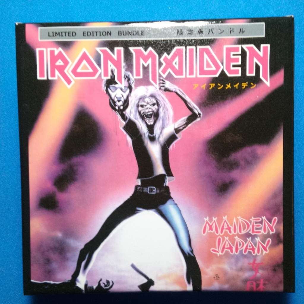 iron maiden Maiden Japan - Boxset CD + Flag (Brazil release 2018)