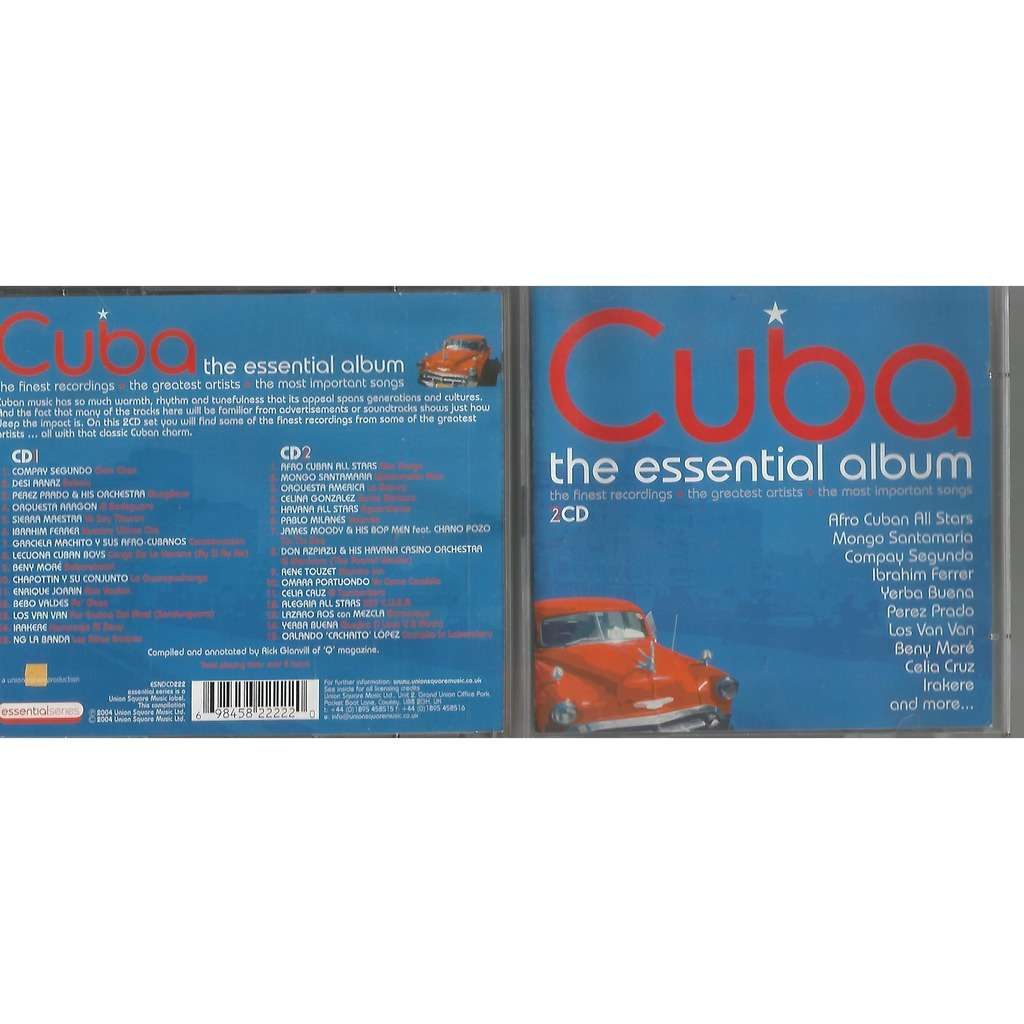 V/a Compay Segundo Omara Portuondo e others CUBA THE ESSENTIAL ALBUM