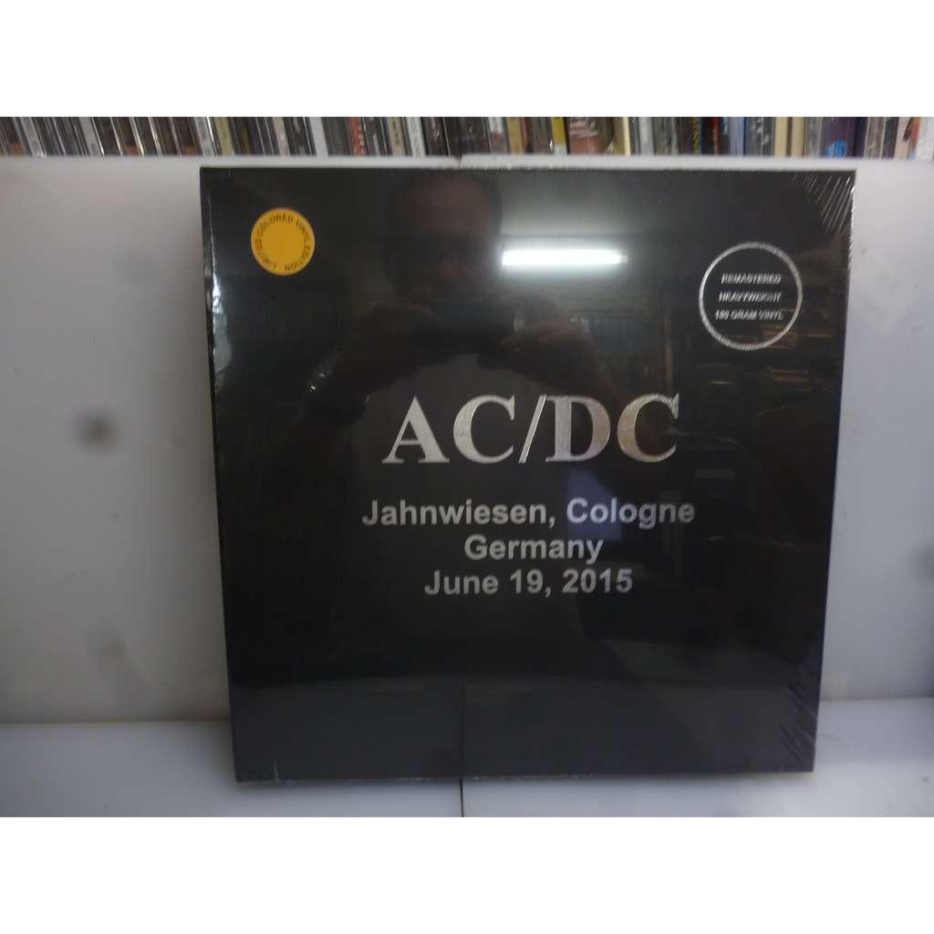 Acdc Jahnwiesen Cologne Germany June 19 2015 Eu 2018 Ltd To 100 3lp Golden Vinyl Hardcover Boxset
