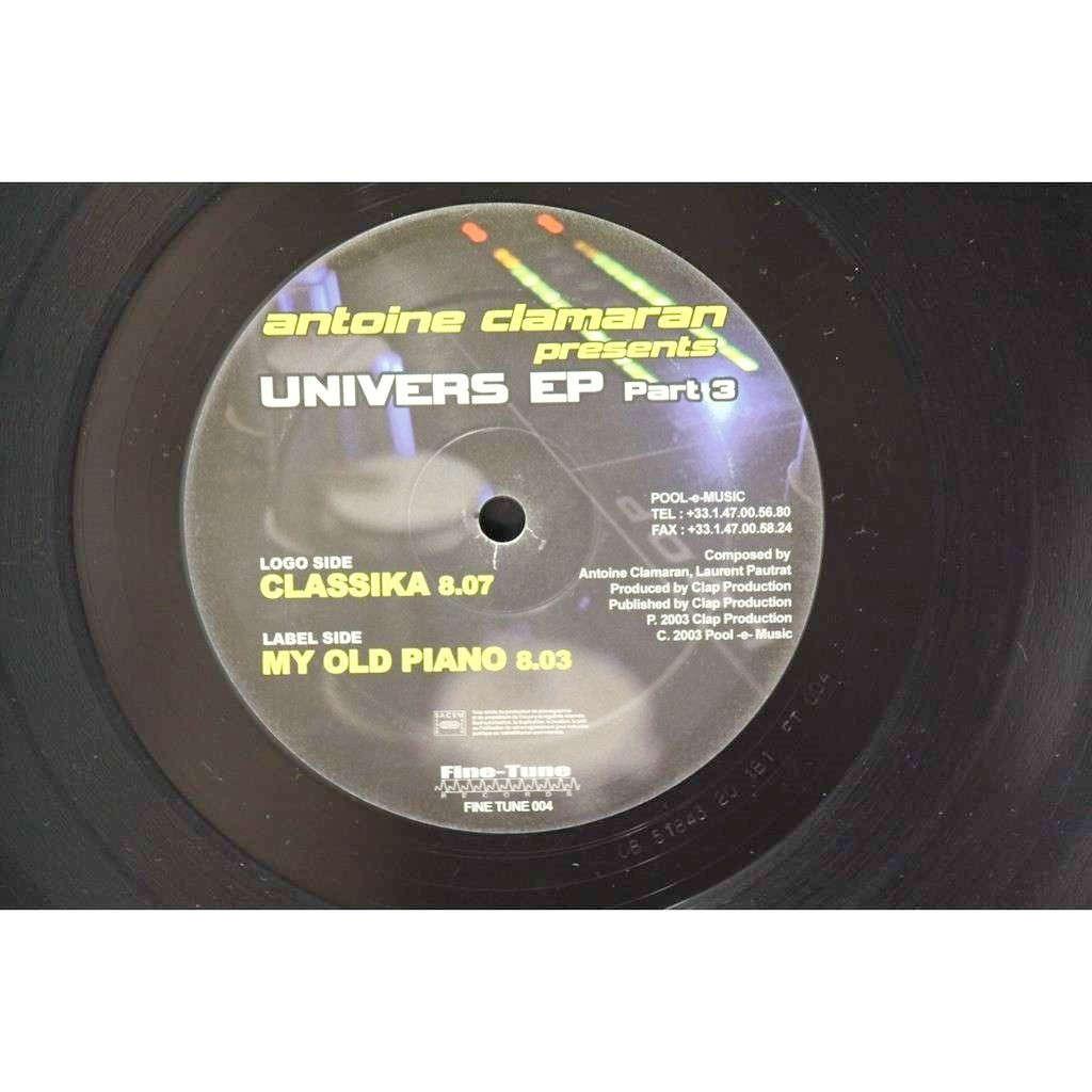 Antoine Clamaran (maxi vinyl) Univers EP Part 3