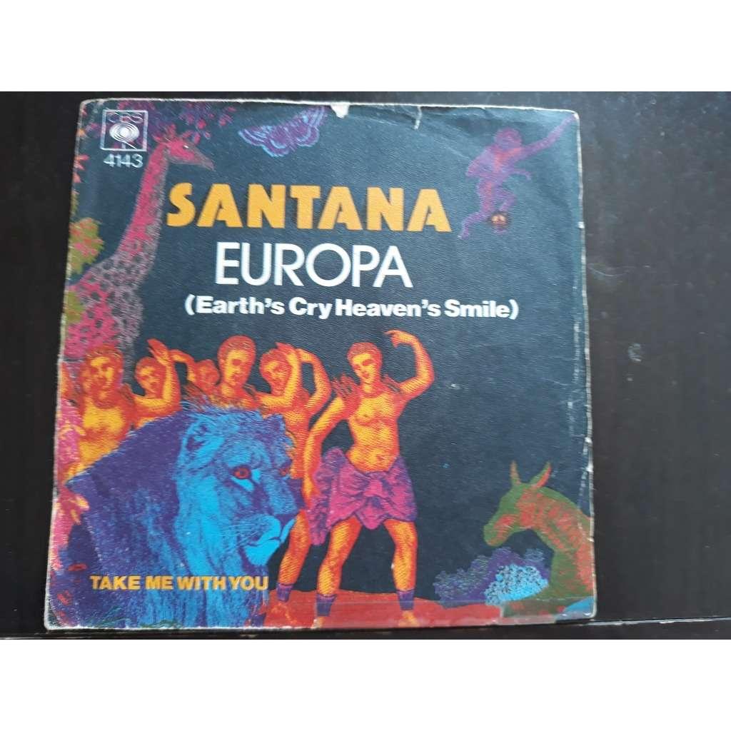 Santana - Europa (Earth's Cry Heaven's Smile) (7, Santana - Europa (Earth's Cry Heaven's Smile) (7, Single)