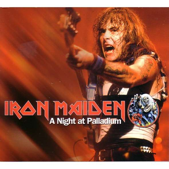 iron maiden A Night At Palladium CD