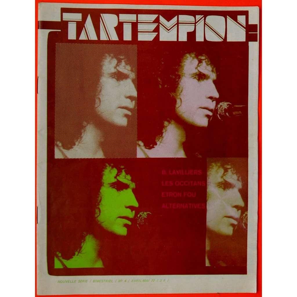 Bernard Lavilliers, Etron Fou Leloublan, Toti Sole Revue musicale TARTEMPION N°4 1977