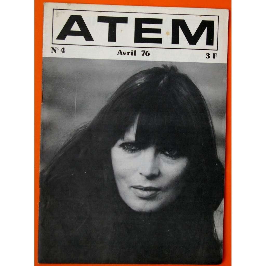 NICO, Emmylou Harris, Nucleus, Nils Lofgren, etc. Revue musicale ATEM N°4 Avril 1976