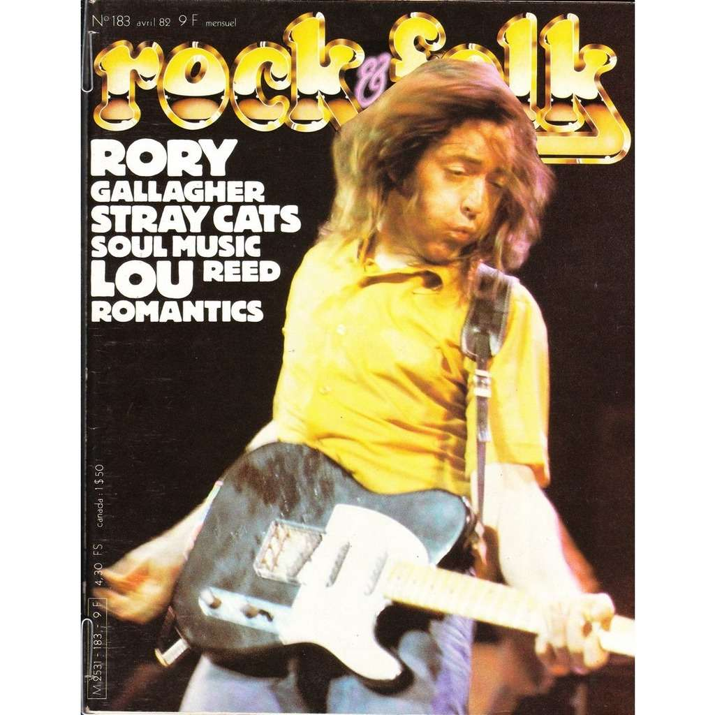 Rock & Folk N°183-avril 1982