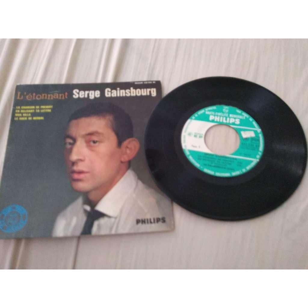 Serge Gainsbourg L'étonnant Serge Gainsbourg