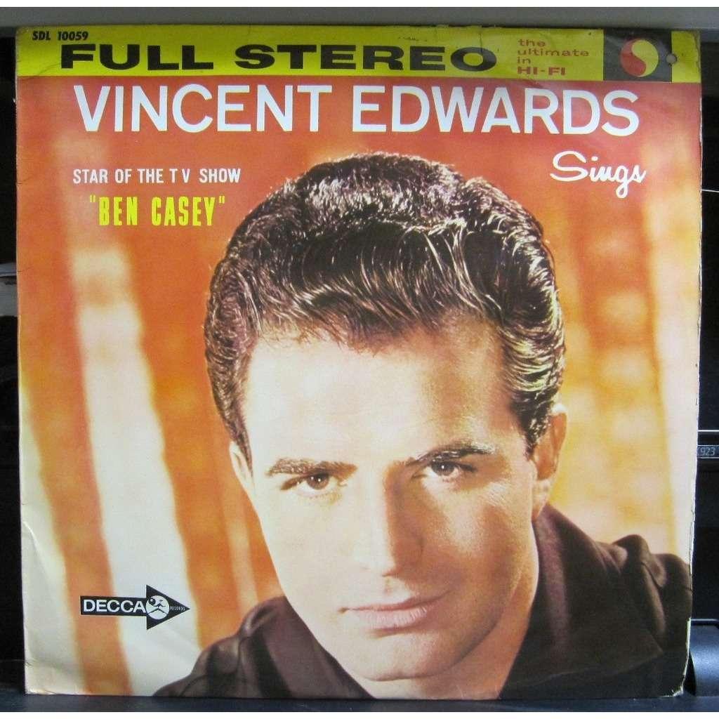 Vincent Edwards Vincent Edwards Sings