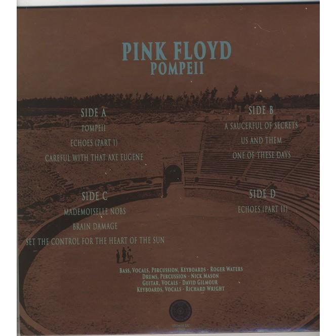 Pink Floyd Pompeii - 2 LP - Gatefold