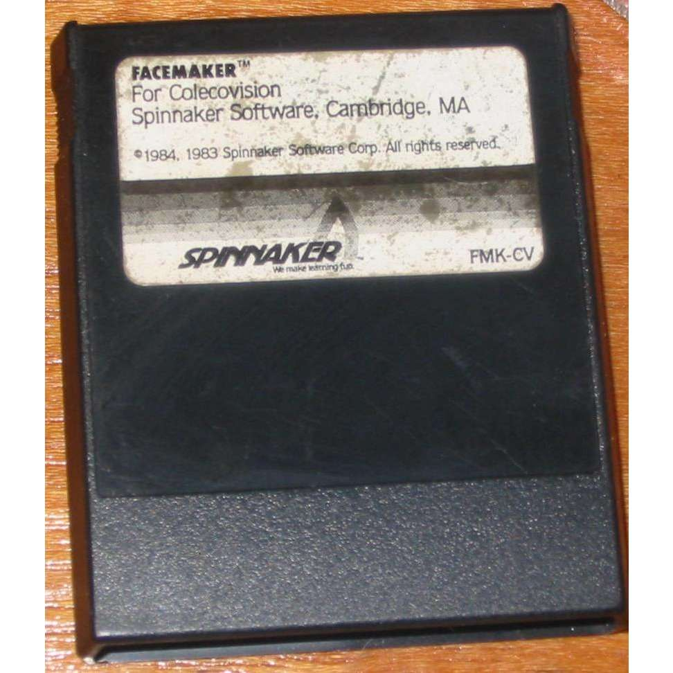 ColecoVision Facemaker by Spinnaker - Cartridge Only - TESTED