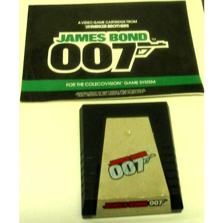 Colecovision James Bond 007 Cartridge AND Manual