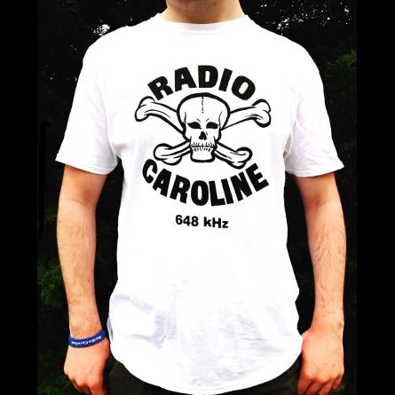 Radio Caroline Radio Caroline Skull & Crossbones 648 T-shirt