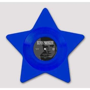 PRESLEY, Elvis blue moon (star-shaped blue vinyl)