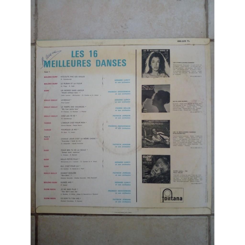 Various Les 16 Meilleures Danses