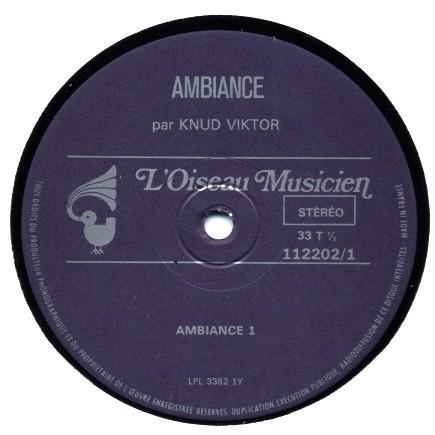 KNUD VIKTOR AMBIANCES ( + CD-R )