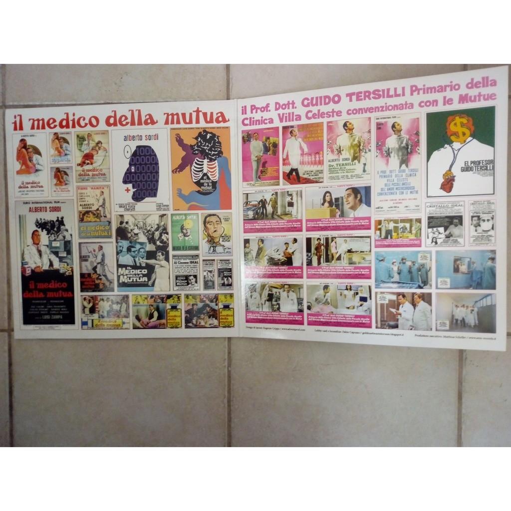 Piero Piccioni Il Medico Della Mutua / Il Prof. Dott. Guido Tersilli Primario Della Clinica Villa