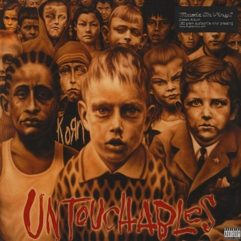 Korn Untouchables (2xlp) Ltd Edit -U.K