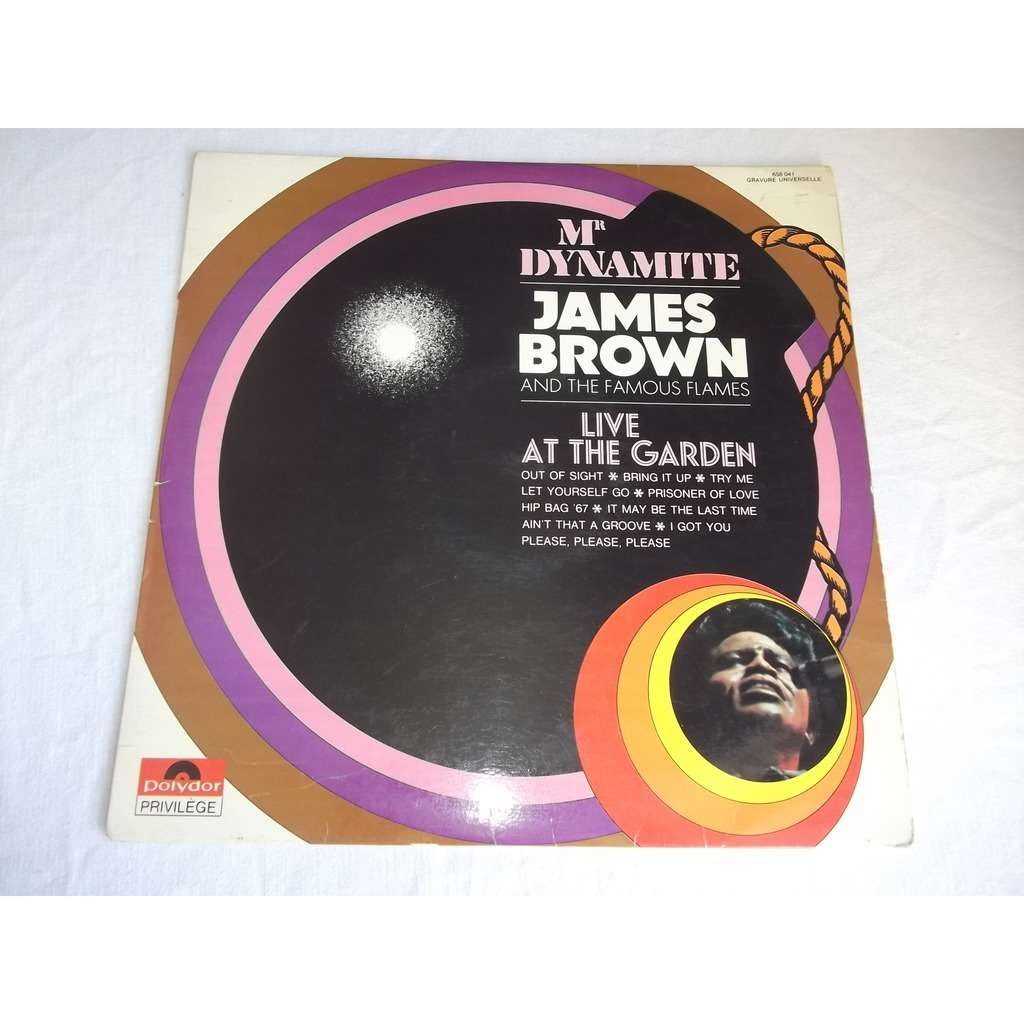 brown james LIVE AT THE GARDEN