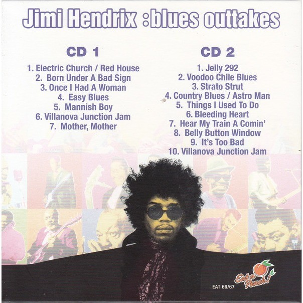 jimi hendrix blues outtakes 2CD