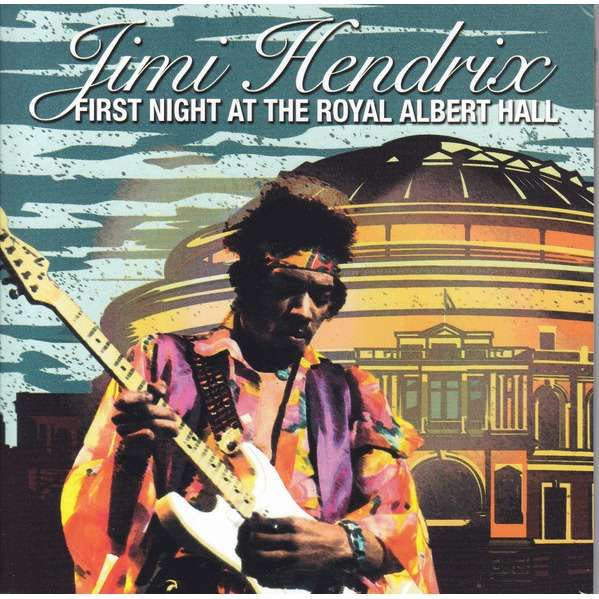 jimi hendrix first night at the royal Albert hall 2CD