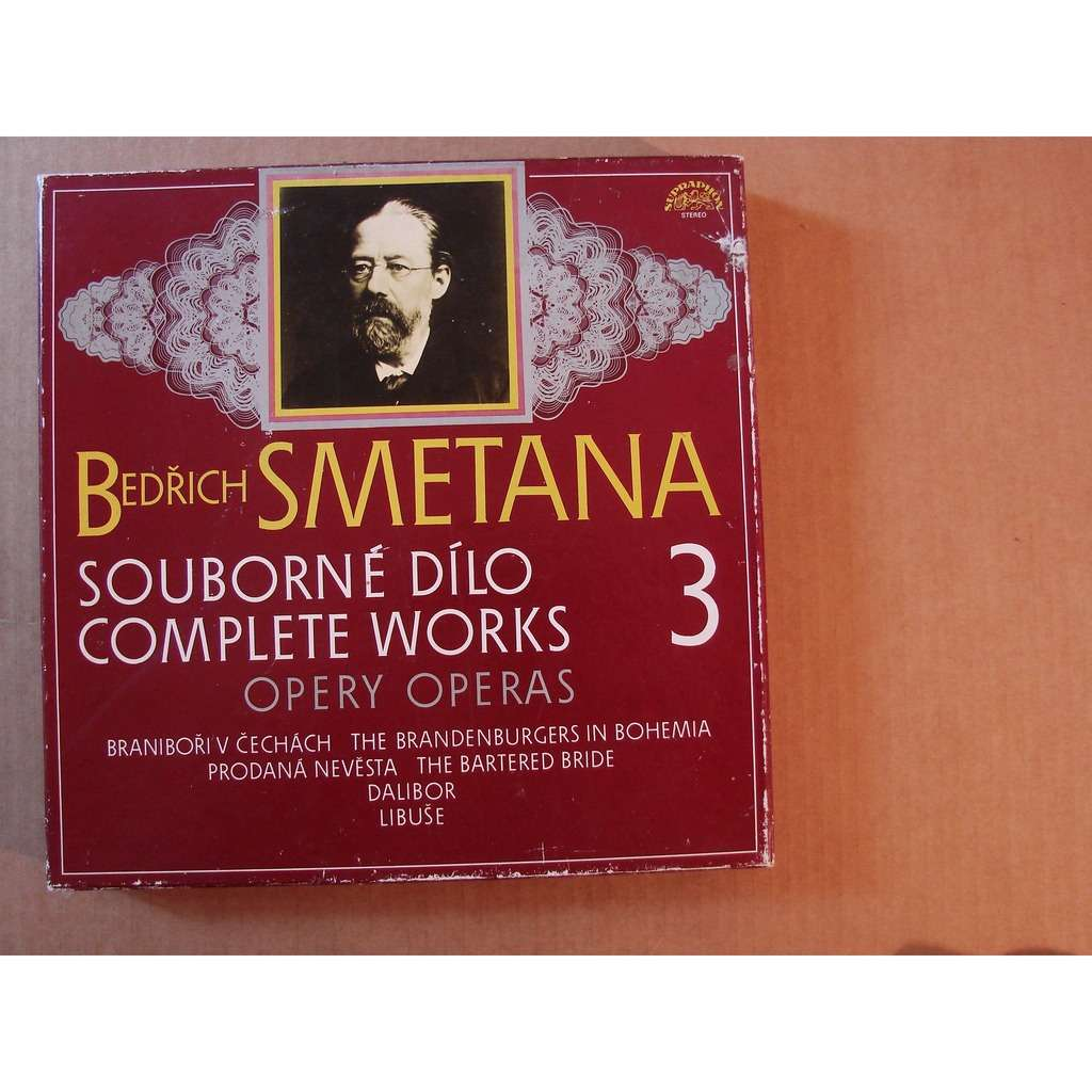 The Brandenburgers in Bohemia Smetana : Complete works operas - volume 3