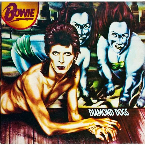 david bowie diamond dogs (lp album gat)