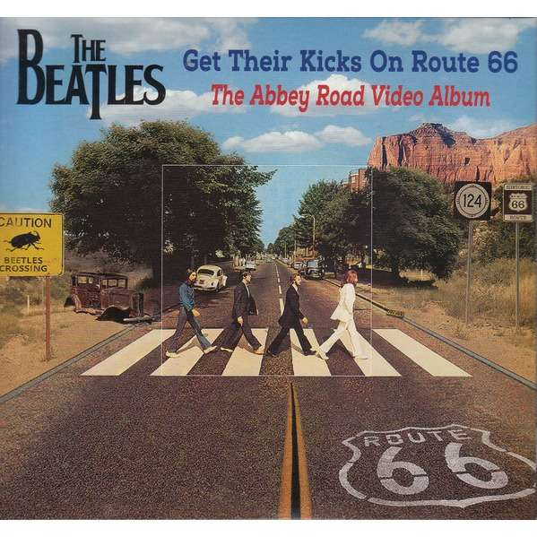 BEATLES GET THEIR KICKS ON ROUTE 66 - THE ABBEY ROAD VIDEO ALBUM CD + DVD