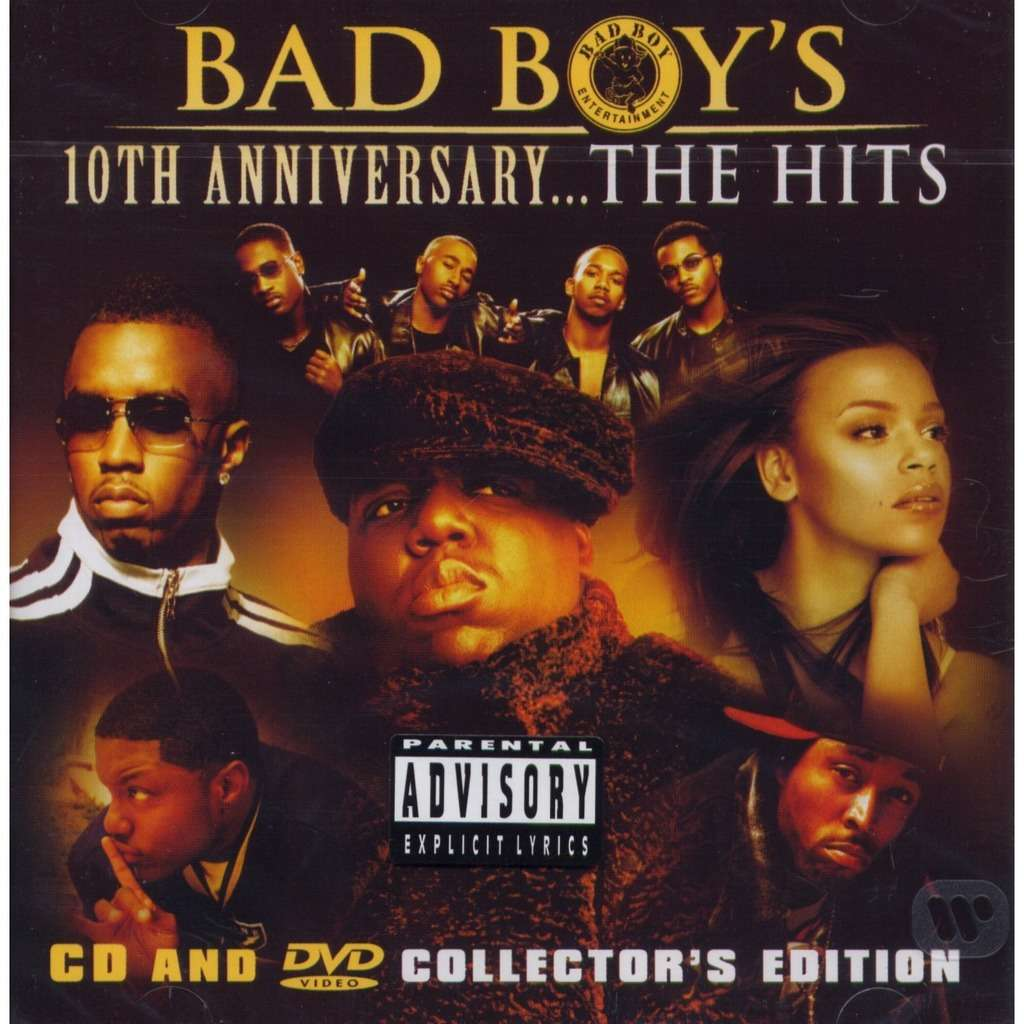 10th anniversary the hits p diddy notorious big bad