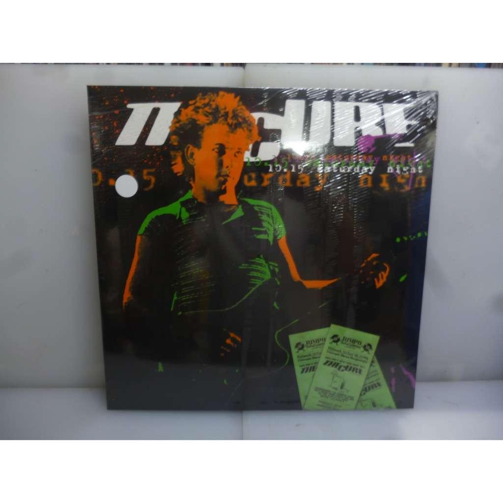 Cure 10.15 Saturday Night. Mensa Morgenstelle, Tübingen, Germany 1981. EU 2014 Clear Vinyl LP.