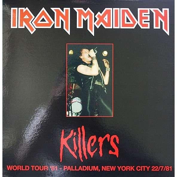 Iron Maiden Killers World Tour '81 Palladium New York City 22/07/81 (lp)