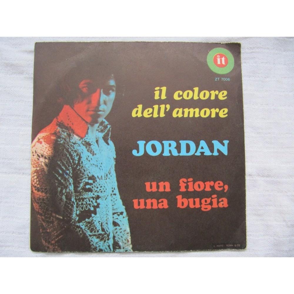 Jordan Il Colore Dell'Amore / Un Fiore, Una Bugia