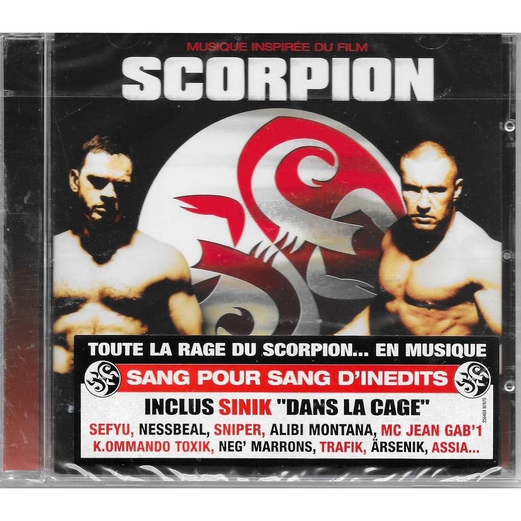 scorpion ( bof ) avec sinik, seyfu, nessbeal, sniper, alibi montana, neg' marrons ...