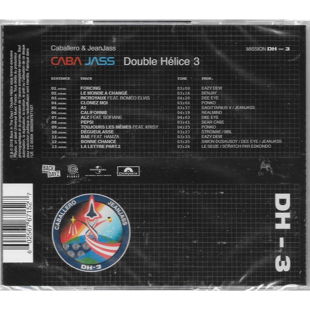 CABALLERO & JEANJASS DOUBLE HELICE 3
