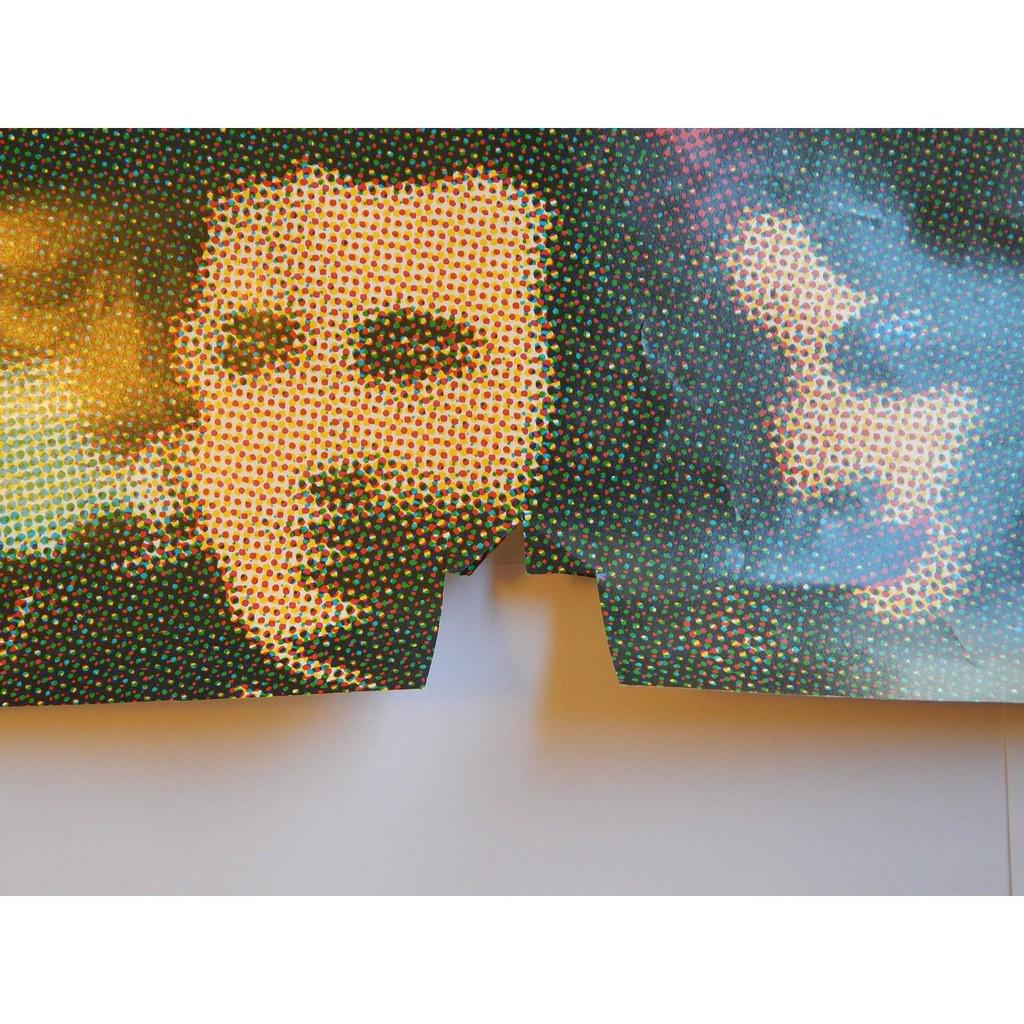 Frank Zappa Tinseltown Rebellion (USA 1981 original 'Zappa Records' 'album release promo shop poster!)