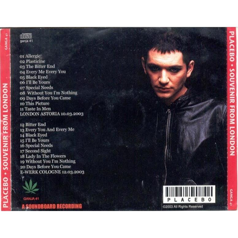 Placebo A Souvenir from London (London Astoria 12.03.2003 & Cologne 12.03.2003)
